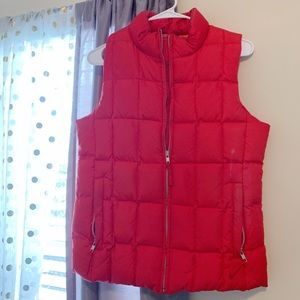 GAP red vest. Perfect for cold weather!